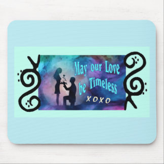 Timeless Luv Mouse Pad