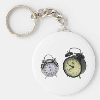 TimerAlarm082009 Basic Round Button Keychain
