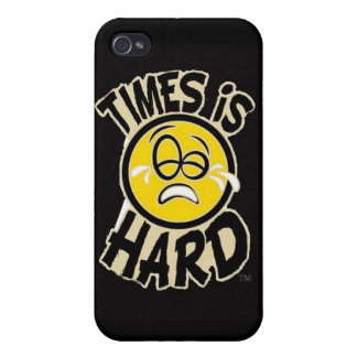 Times Is Hard iphone 4 Case