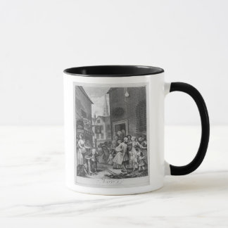 Times of the Day, Noon, 1738 Mug