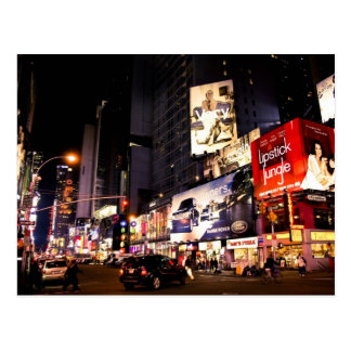 Times Sq Billboards Postcard