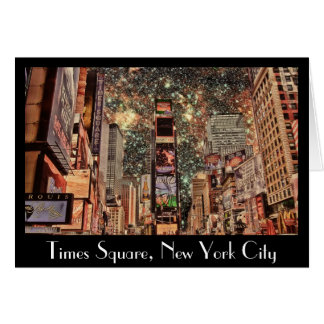 Times Square, New York City Card