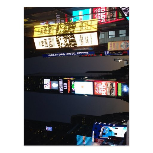 Times Square - New York City Postcards