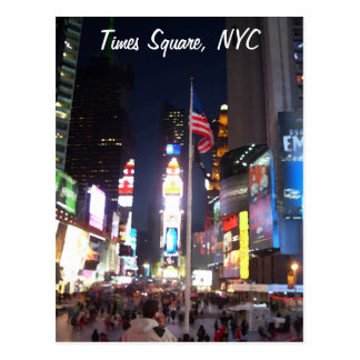 """Times Square, New York City, USA""  CricketDiane A Postcard"