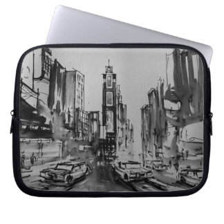 Times Square New York Laptop Sleeve 10""