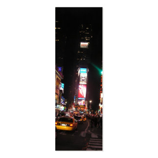 Times Square-NYC Bookmark Mini Business Card
