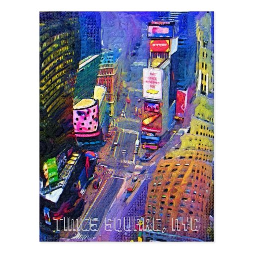 Times Square, NYC Postcards