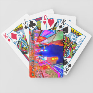 Times Square Pop Art Bicycle Playing Cards