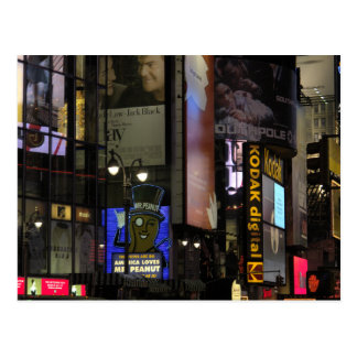Times Square Postcard