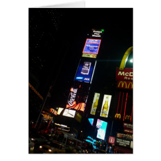 times square signs card
