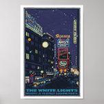 Times Square vintage Posterette des années 1920 Affiches