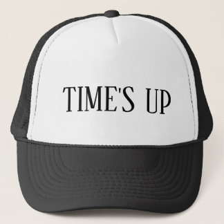 Time's Up hat