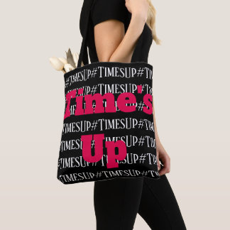 Times Up totebag Tote Bag