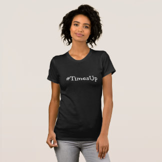 #TimesUp Black Solidarity stop Abuse Against Women T-Shirt