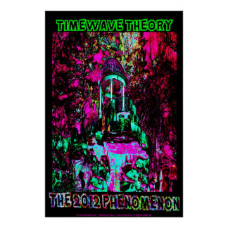 "TIMEWAVE THEORY ""THE 2012 PHENOMENON"" POSTER 24/36"