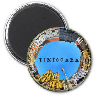 timisoara city romania union square panorama piata magnet