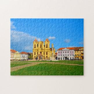 Timisoara dome landmark architecture travel touris jigsaw puzzle
