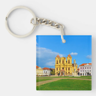 Timisoara dome landmark architecture travel touris keychain