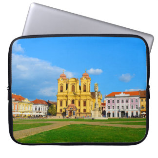 Timisoara dome landmark architecture travel touris laptop sleeve