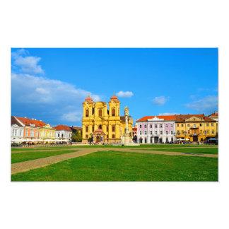 Timisoara dome landmark architecture travel touris photo print