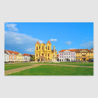 Timisoara dome landmark architecture travel touris sticker