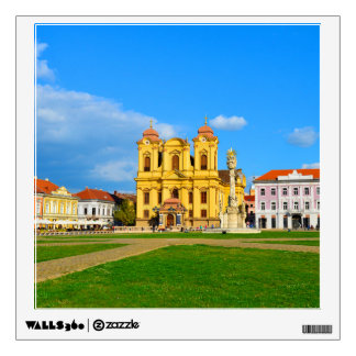 Timisoara dome landmark architecture travel touris wall sticker