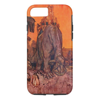 Timlin Fairy Zoo Vintage Fantasy Watercolor Art iPhone 7 Case