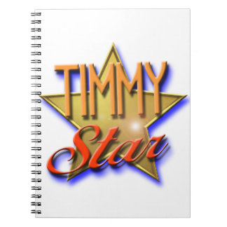 Timmy Star Notebooks