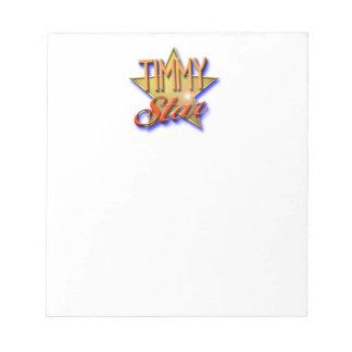 Timmy Star Notepad