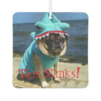 """Timmy The Pug Air Freshener """"This Stinks"""""""