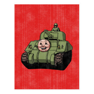 Timmy the Tank Post Card