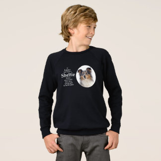 Timmy's Blue Merle Sheltie Sweatshirt