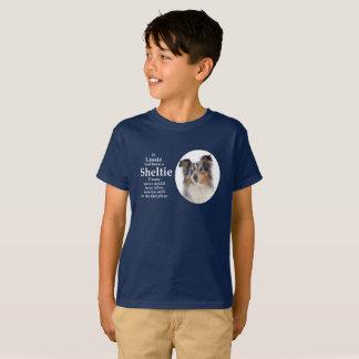 Timmy's Blue Merle Sheltie T-shirt