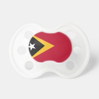 Timor leste flag baby pacifiers