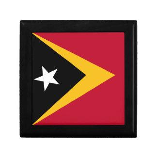 Timor leste flag gift box