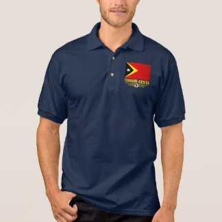Timor-Leste Flag Polo Shirt