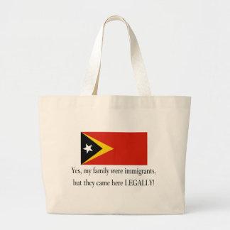 Timor-Leste Jumbo Tote Bag