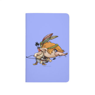 TIMOTATI ALIEN CARTOON Pocket Journal