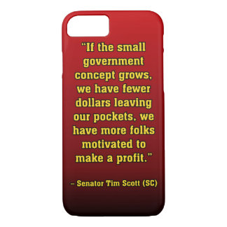 TIMSCOTT SMALLER GOVT iPhone 8/7 CASE