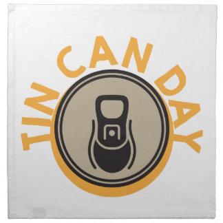 Tin Can Day - Appreciation Day Napkin