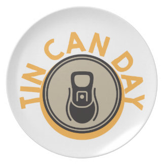 Tin Can Day - Appreciation Day Plate