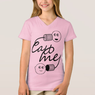 Tin Can Phone Call Me Shirt