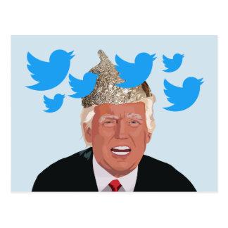 Tin Foil Trump Postcard