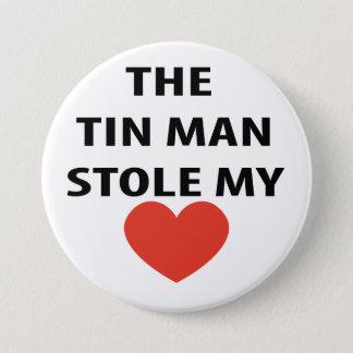 Tin Man 3 Inch Round Button