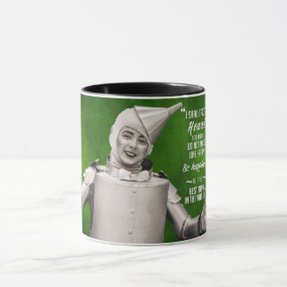 "Tin Man - ""I'll Take the Heart"" [quote] Mug"