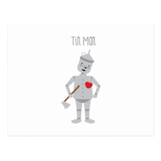 Tin Man Postcard