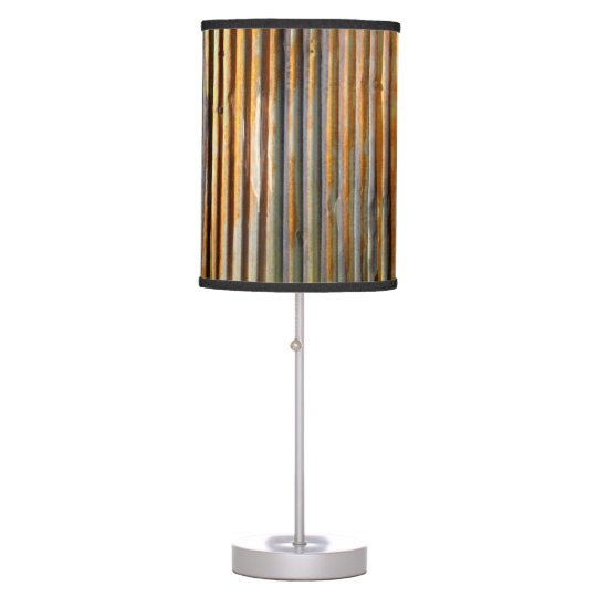 Tin Roof Table Lamp