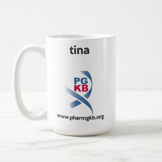 tina coffee mug