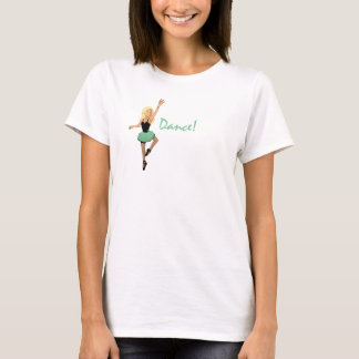 "Tina ""Dance!"" wing-back Light Women's T T-Shirt"