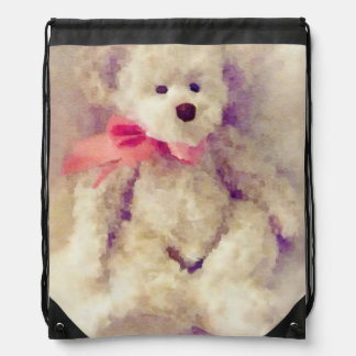 Tina Teddy Bear Cinch Bag